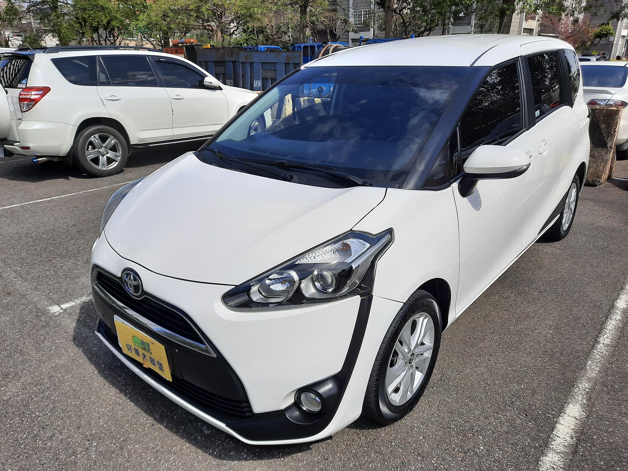 2017 Toyota 豐田 Sienta