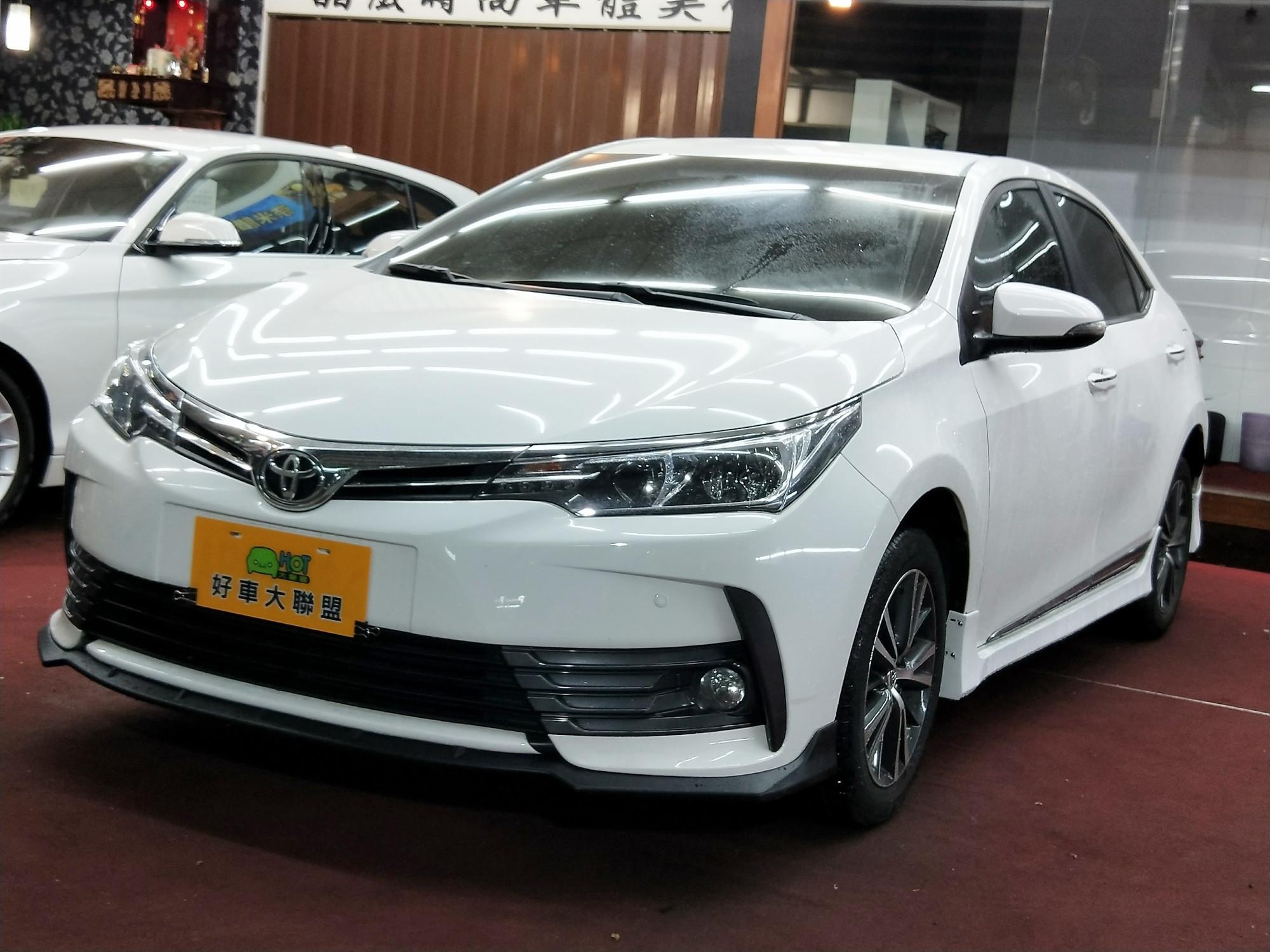 2016 Toyota Corolla altis