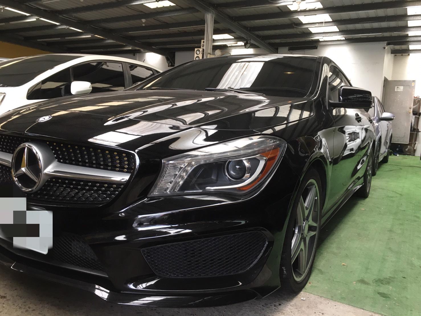 2014 M-Benz 賓士 Cla-class