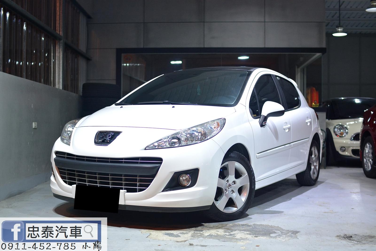 2012 Peugeot 寶獅 207