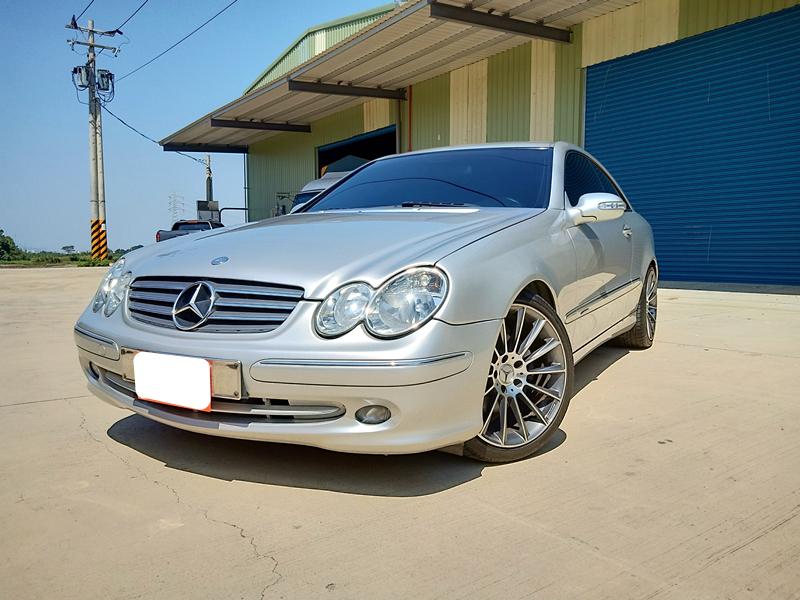 2002 M-benz Clk-class