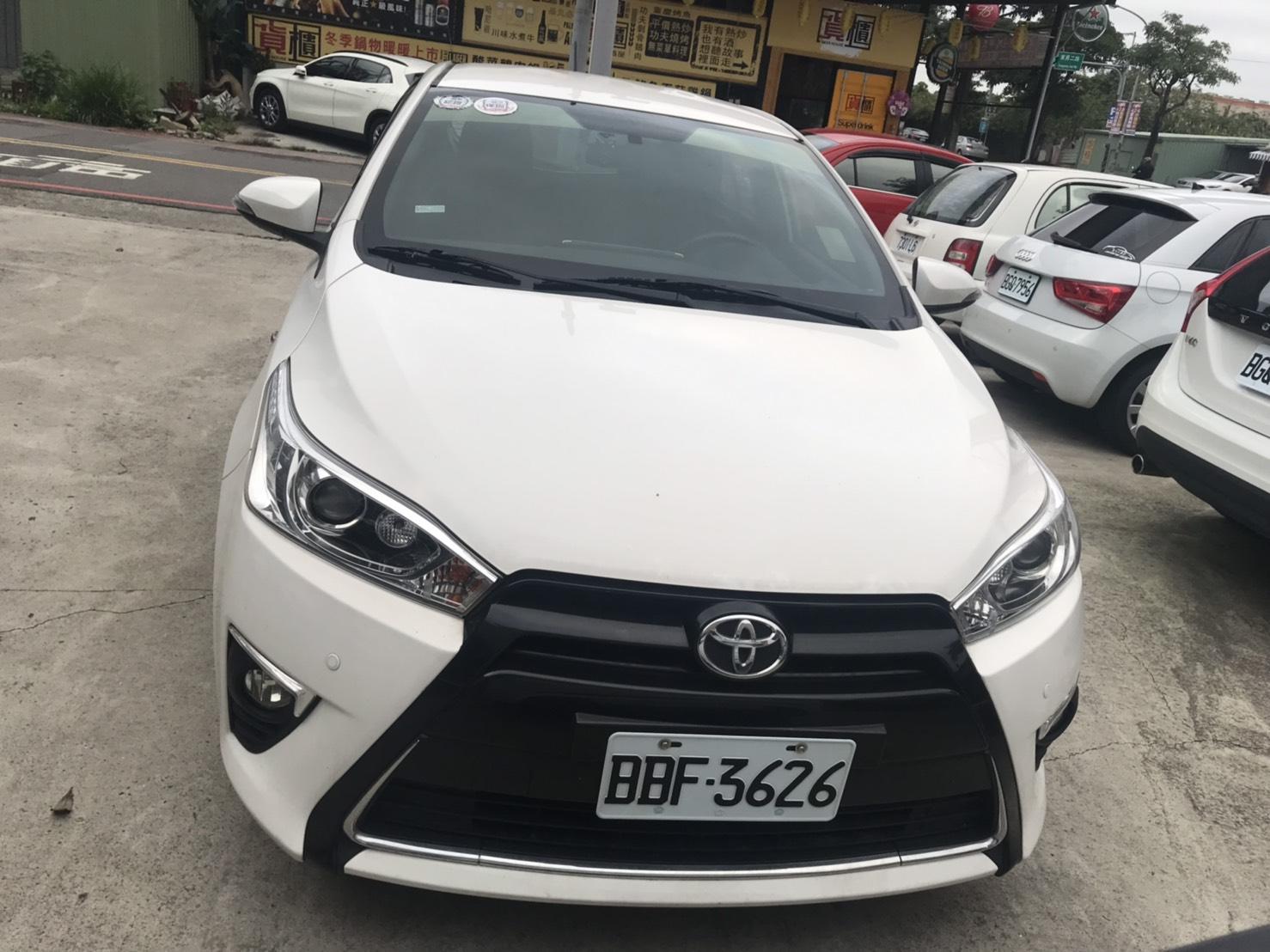 Toyota 豐田 2016 Yaris