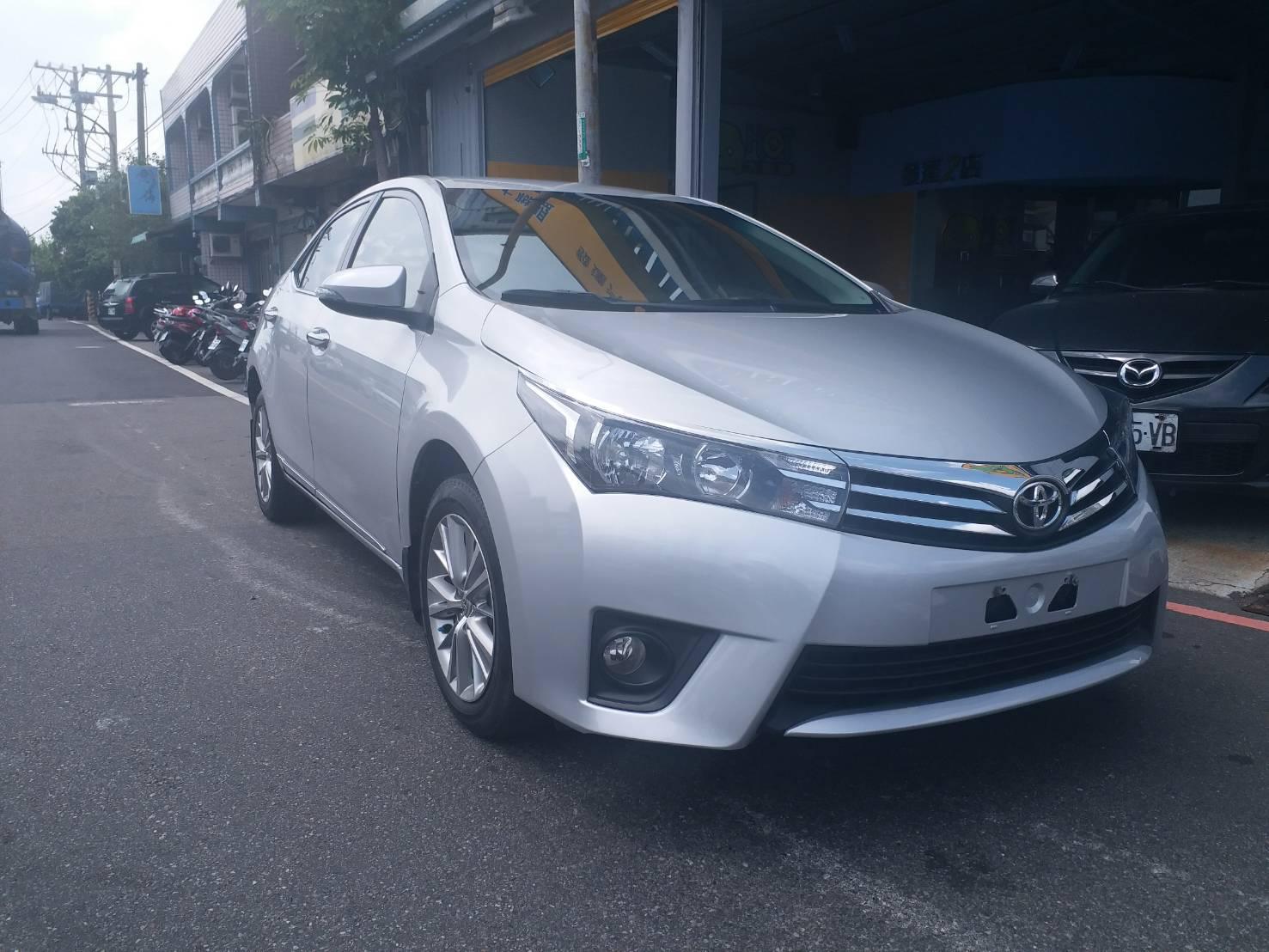 2014 Toyota Corolla altis
