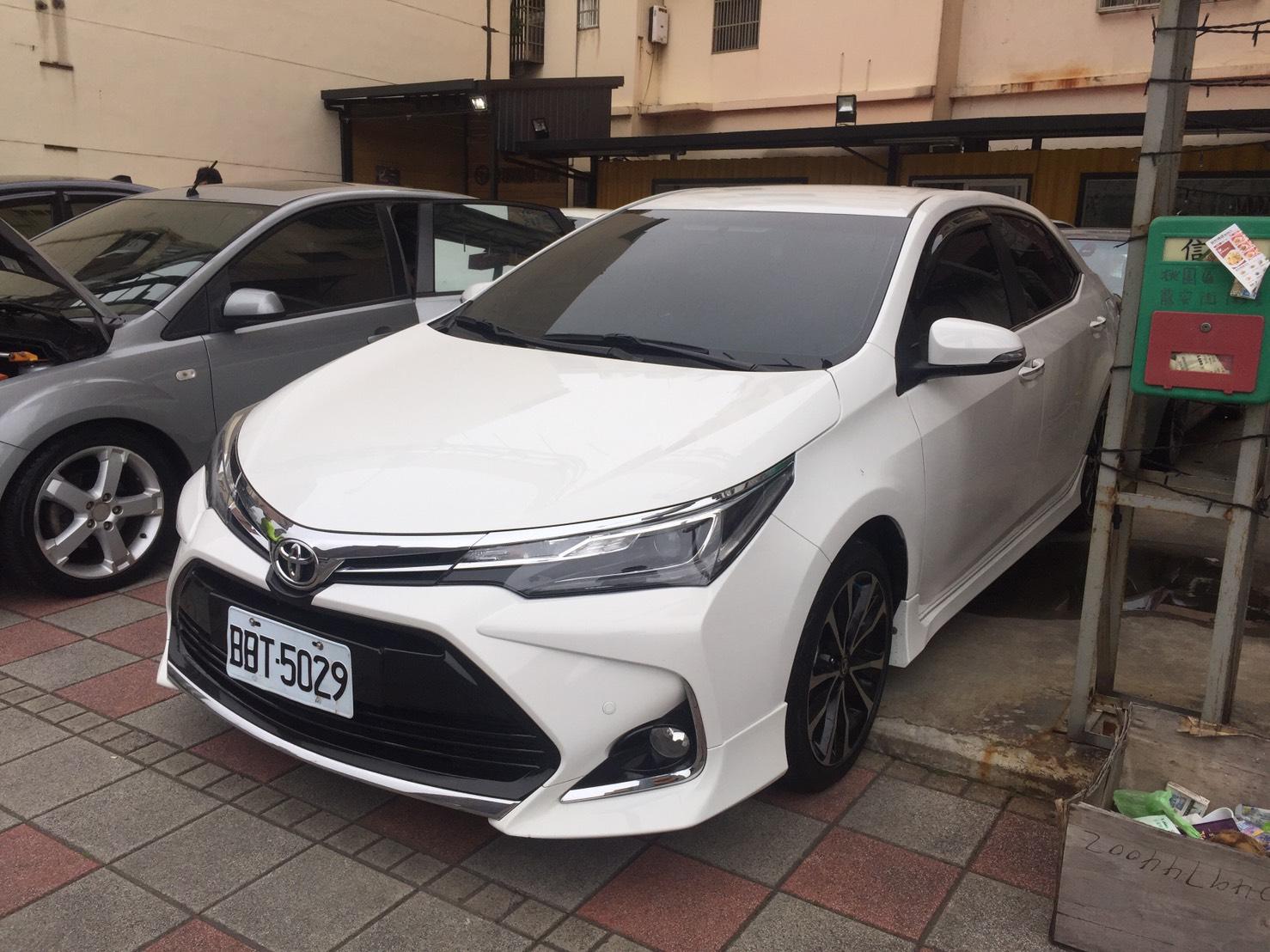 2017 Toyota 豐田 Corolla altis