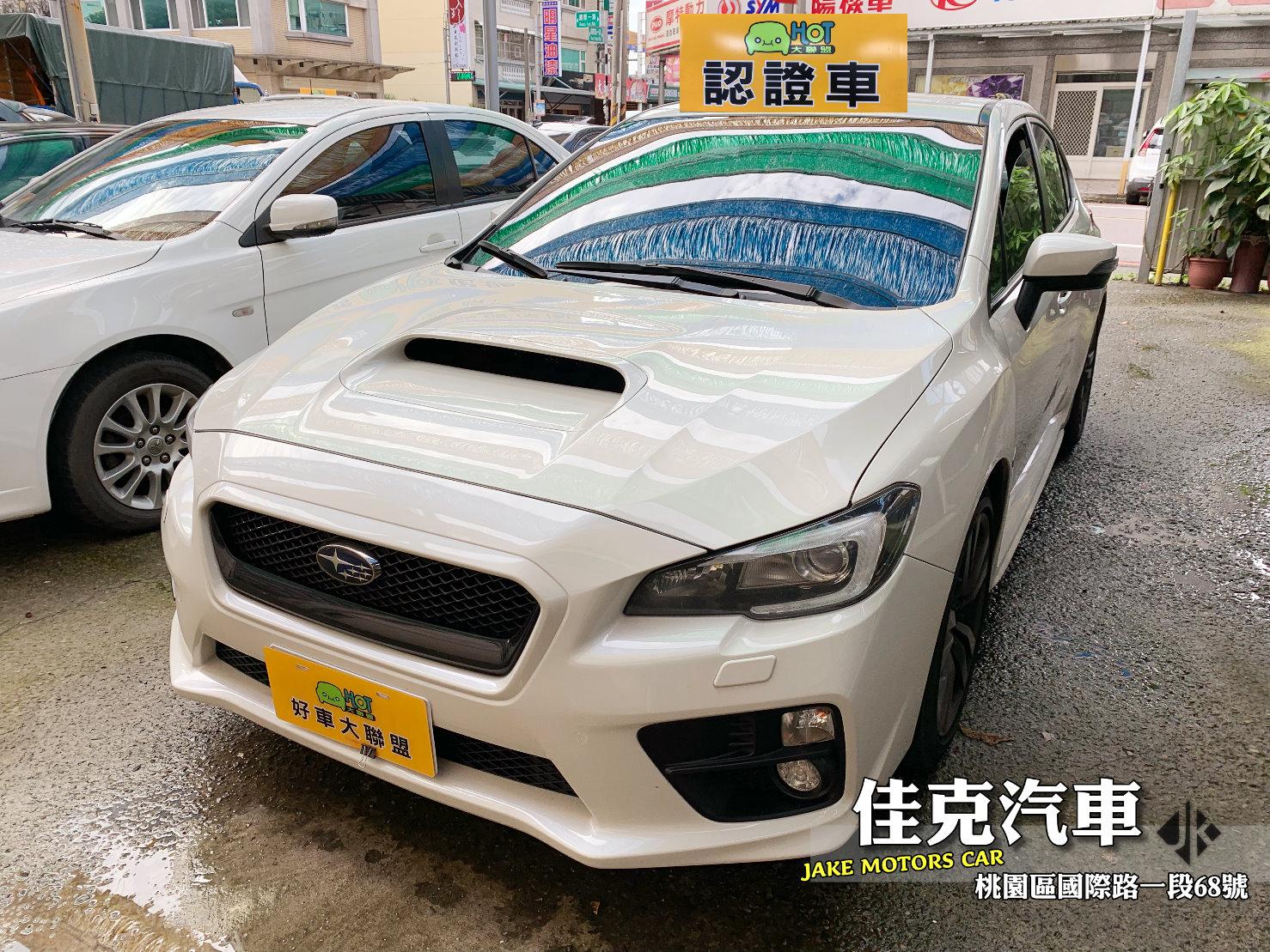 2015 Subaru 速霸陸 Wrx