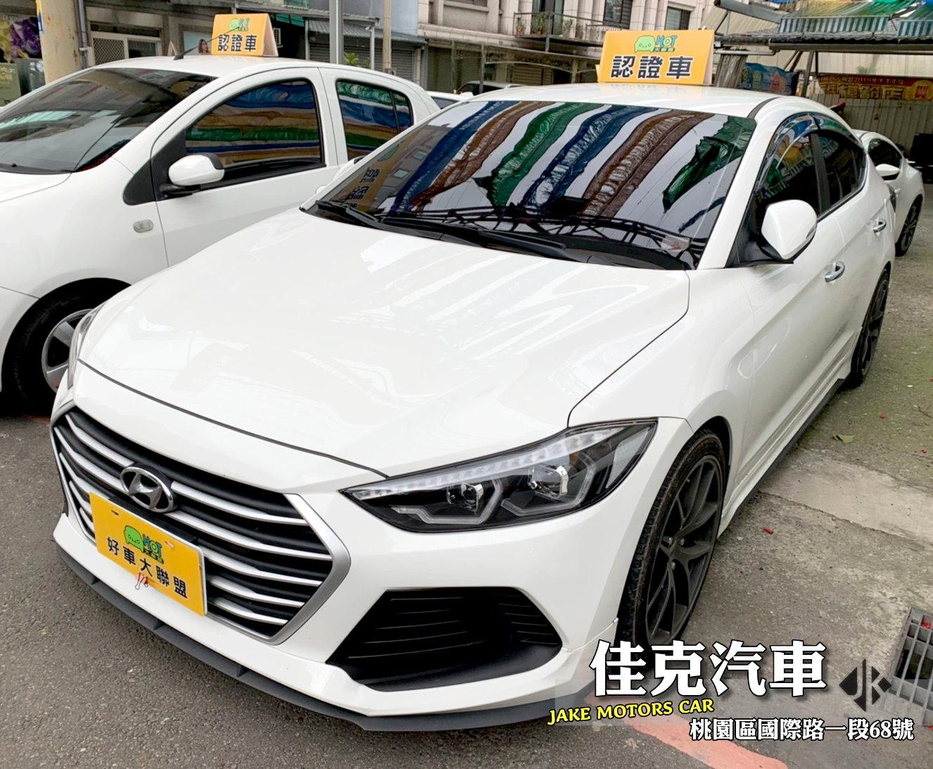 2018 Hyundai 現代 Elantra