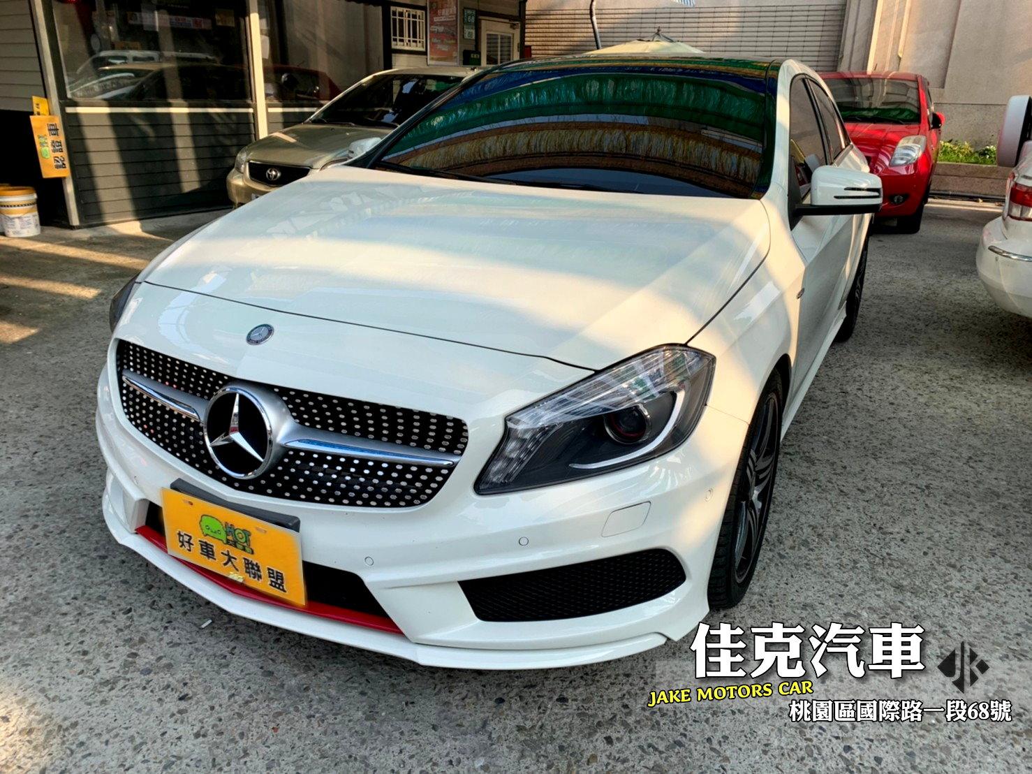 2014 M-Benz 賓士 A-class