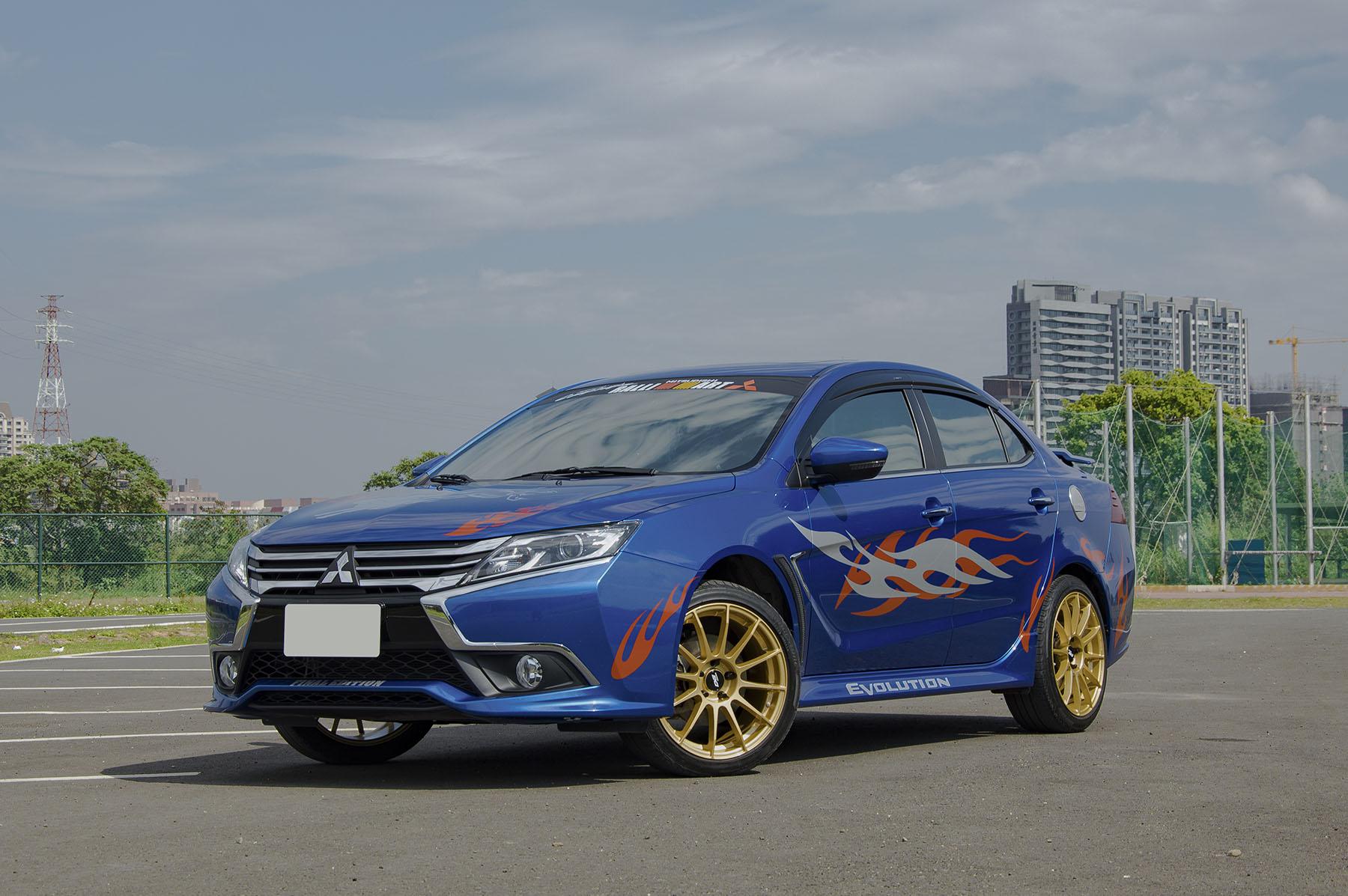 2017 Mitsubishi 三菱 Lancer fortis