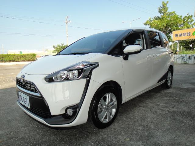 2016 Toyota 豐田 Sienta