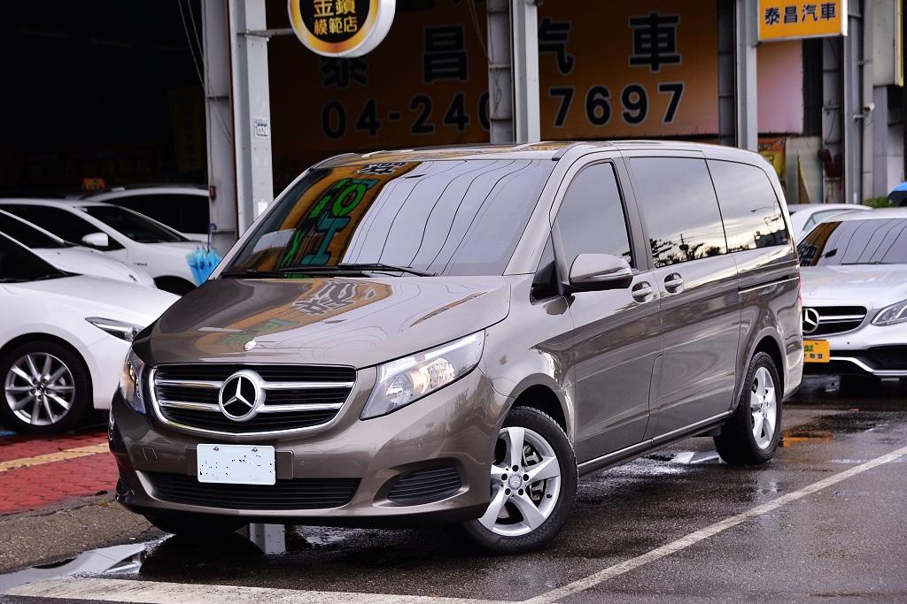 2016 M-Benz 賓士 V-class