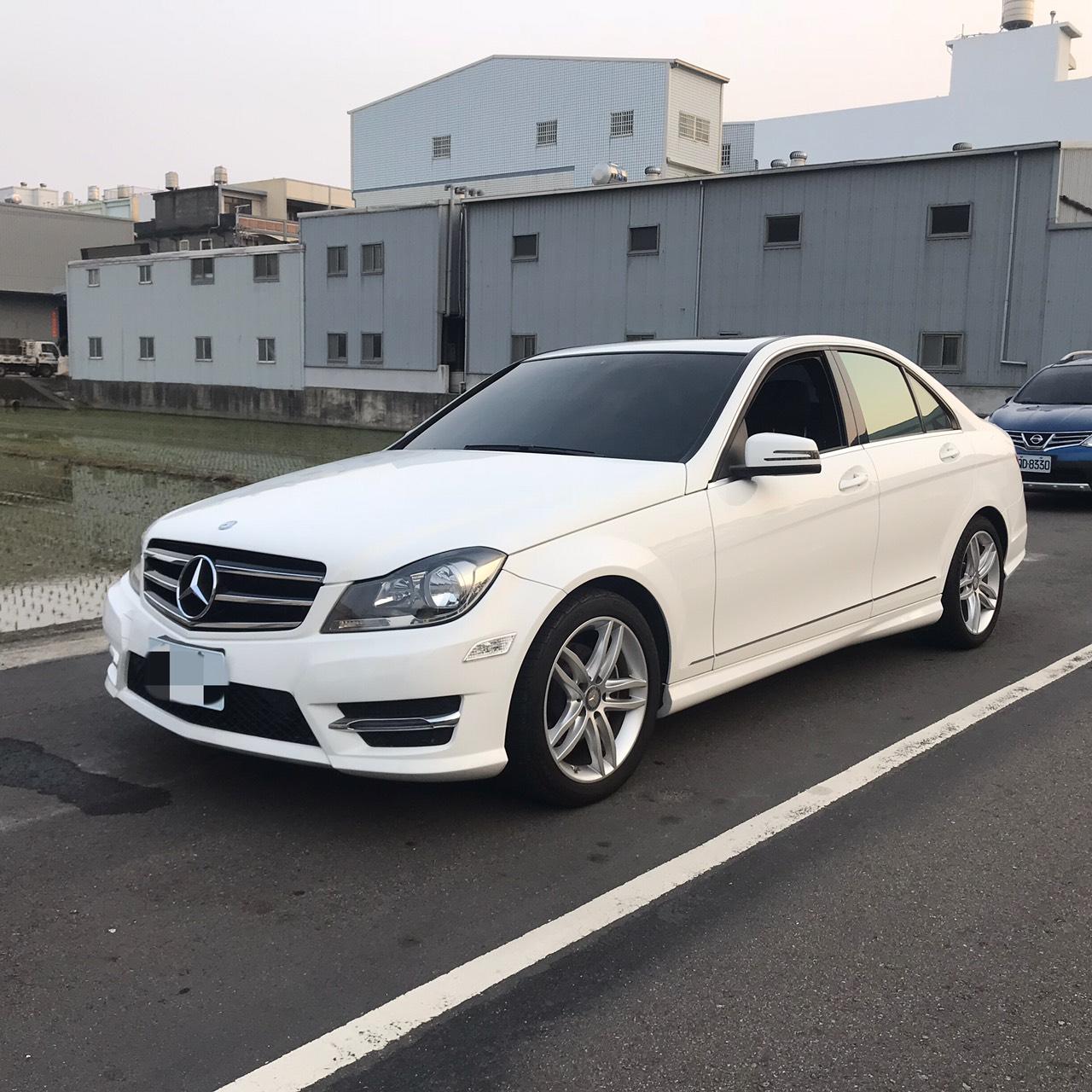 2014 M-benz C-class