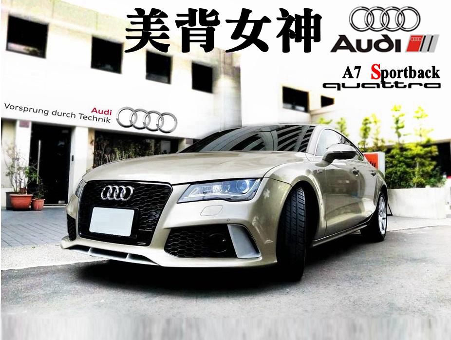 2010 Audi A7 sportback