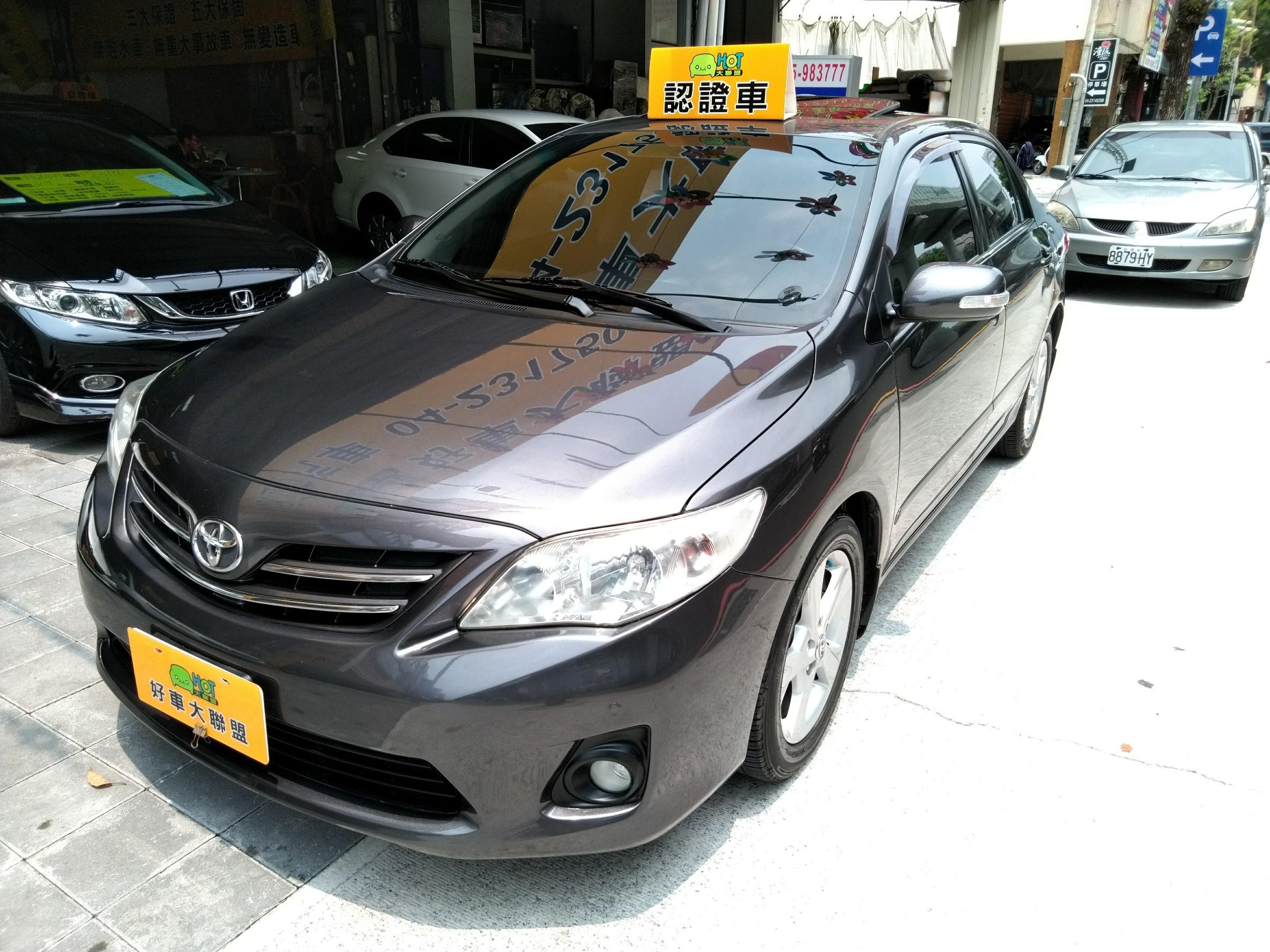 2012 Toyota Corolla altis