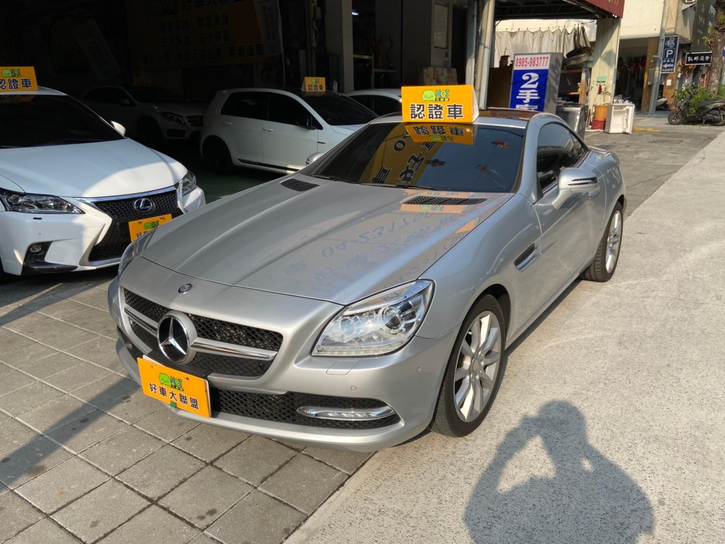 2013 M-Benz 賓士 Slk