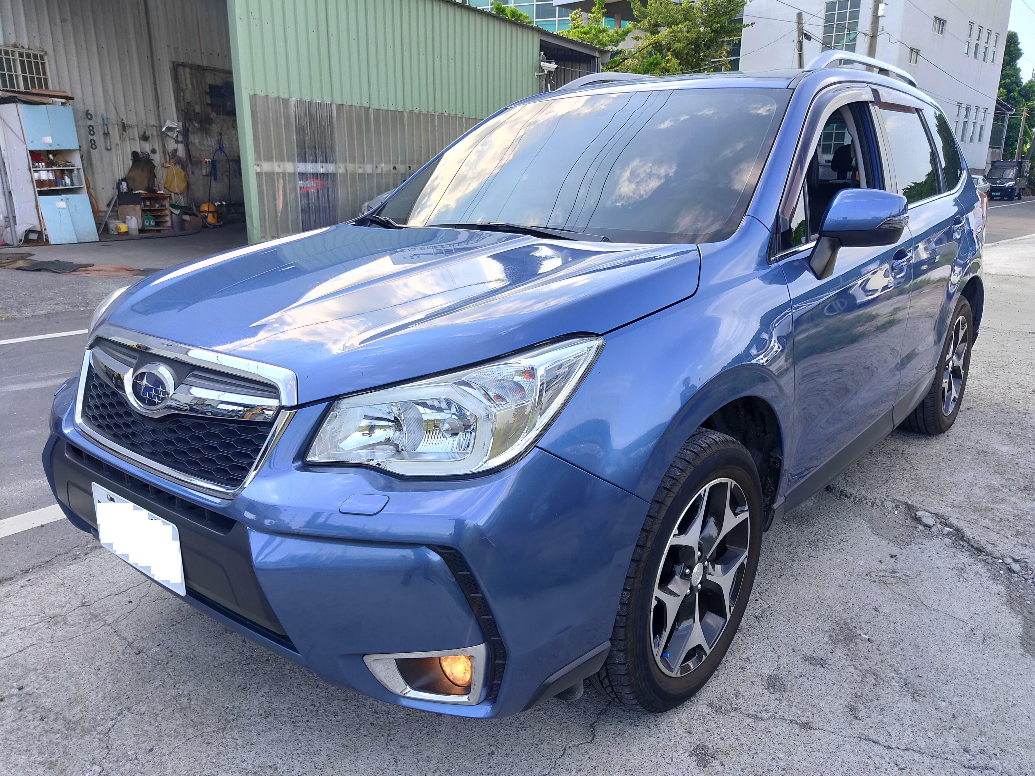 2014 Subaru 速霸陸 Forester
