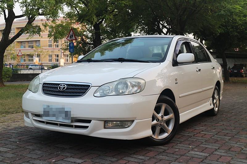 2003 Toyota Corolla altis