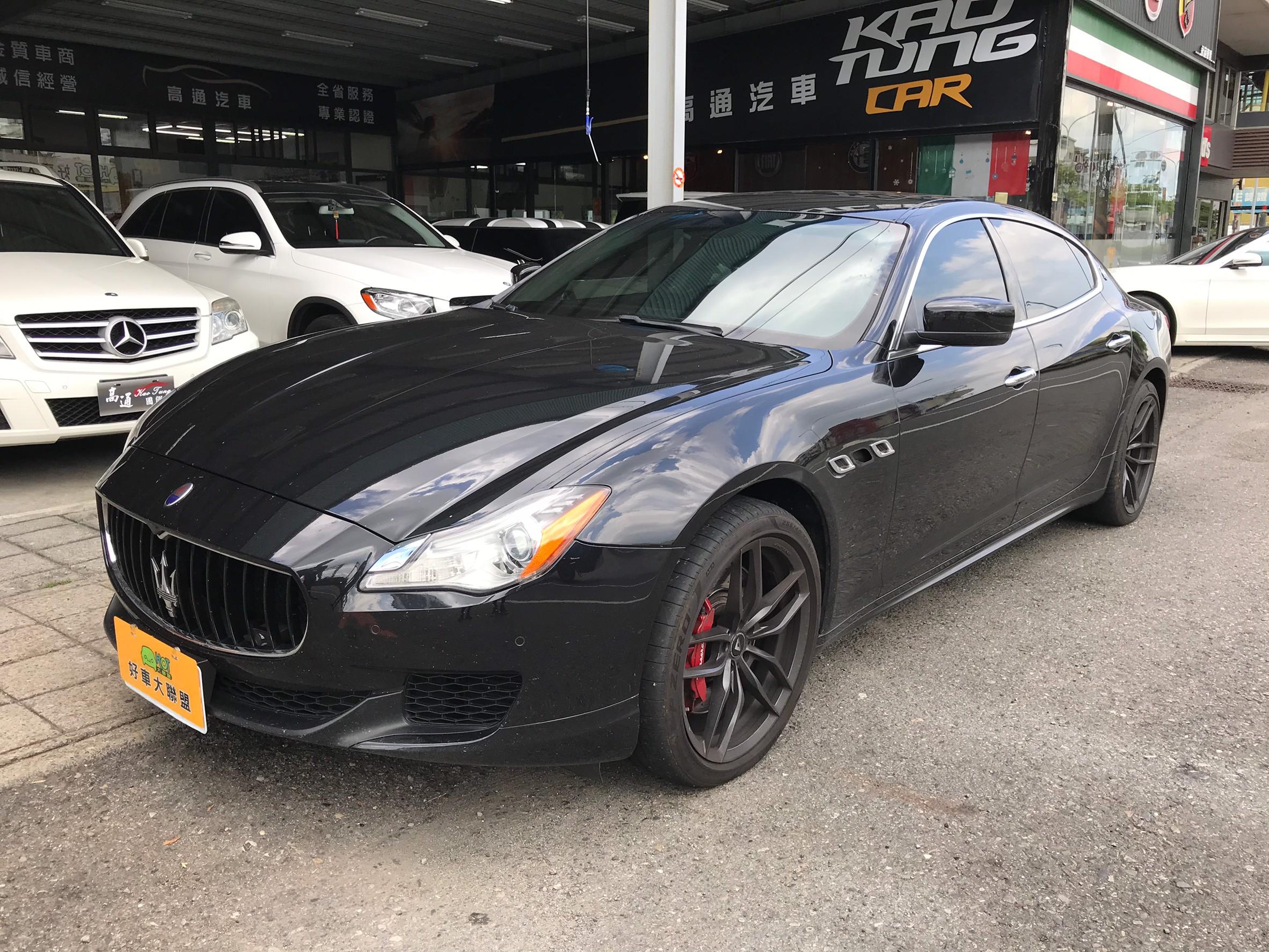 2013 Maserati 瑪莎拉蒂 Quattroporte