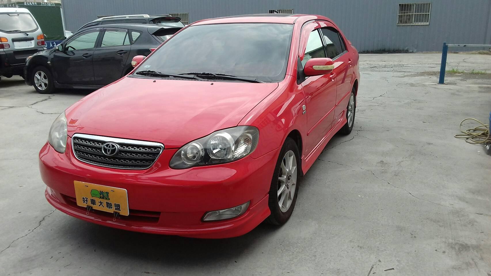2006 Toyota Corolla altis