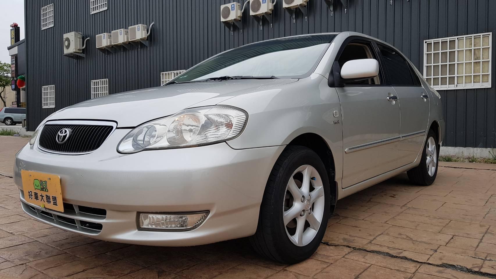 2001 Toyota Corolla altis