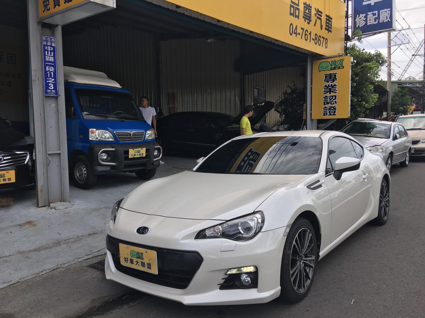 2013 Subaru 速霸陸 Brz