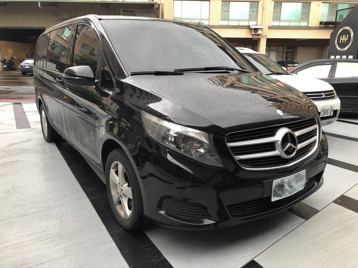 2016 M-benz V-class