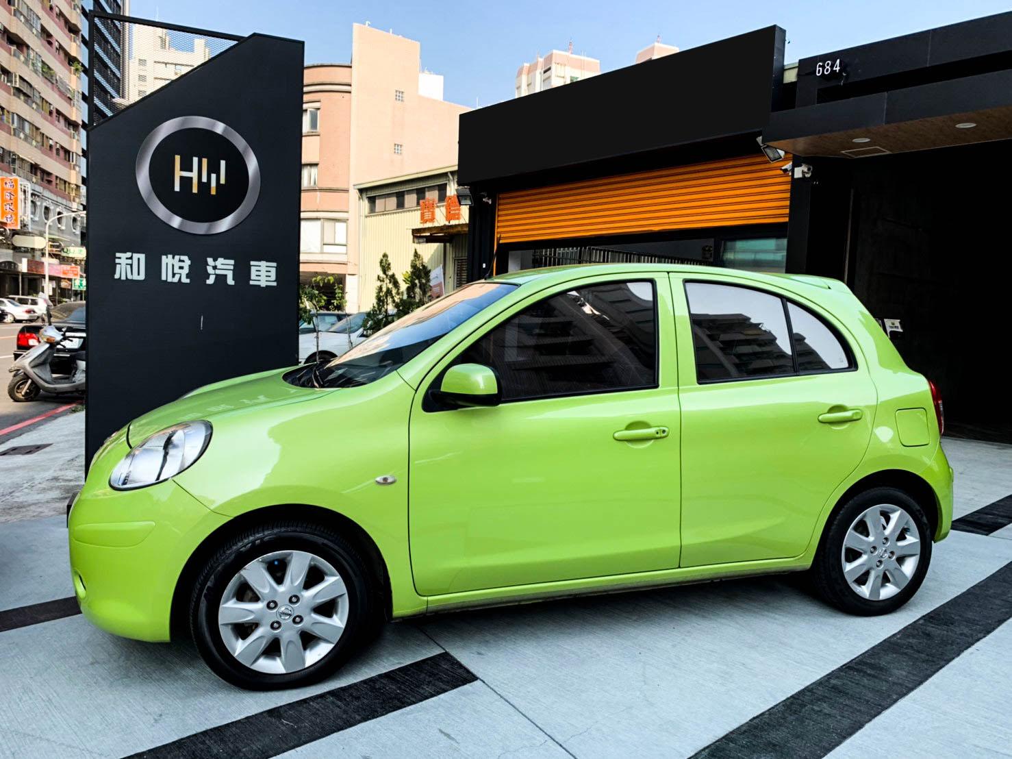 2012 Nissan 日產 March