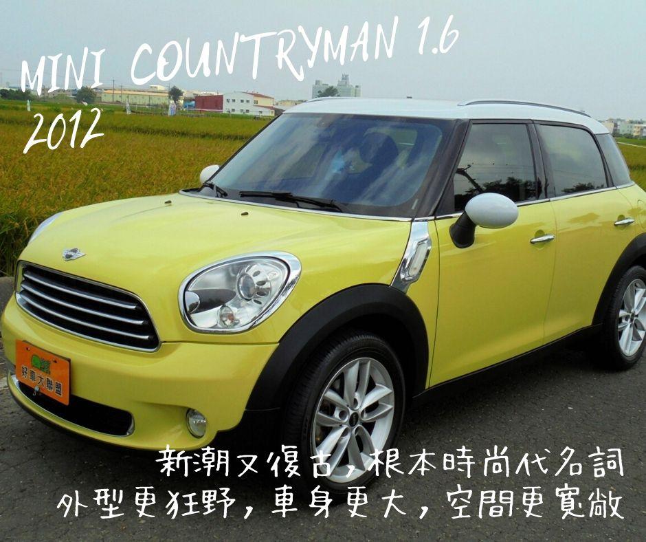 2012 Mini 迷你 Countryman