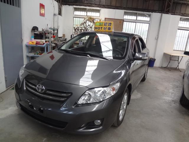 2009 Toyota Corolla altis