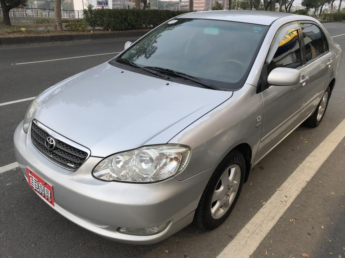 2004 Toyota Corolla altis