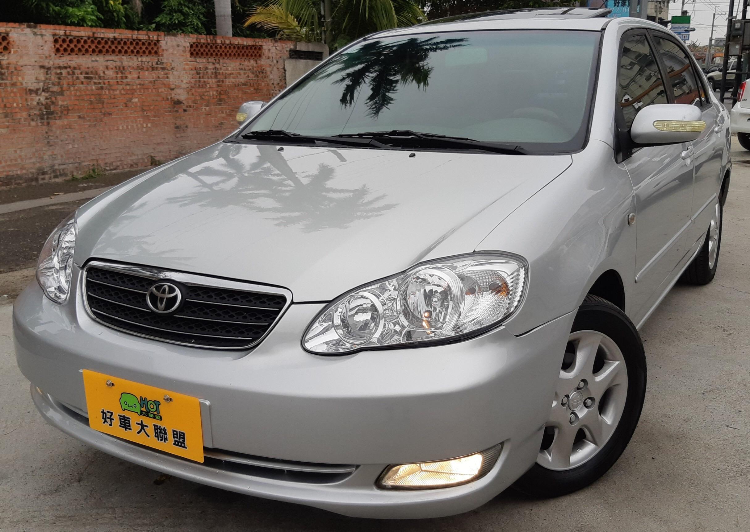 2005 Toyota Corolla altis