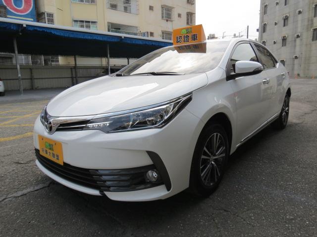 2017 Toyota Corolla altis