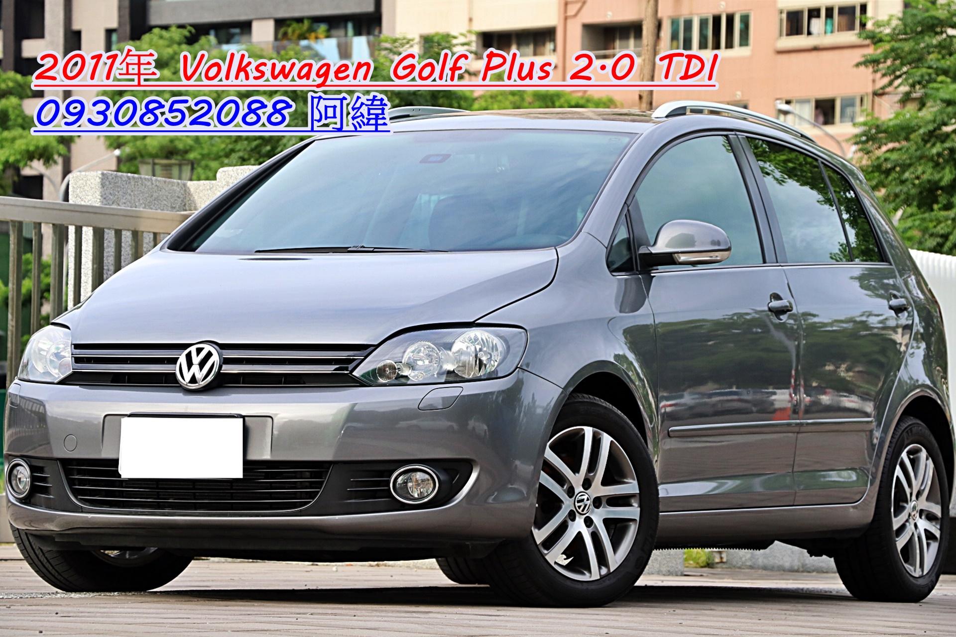 2011 Volkswagen Golf plus