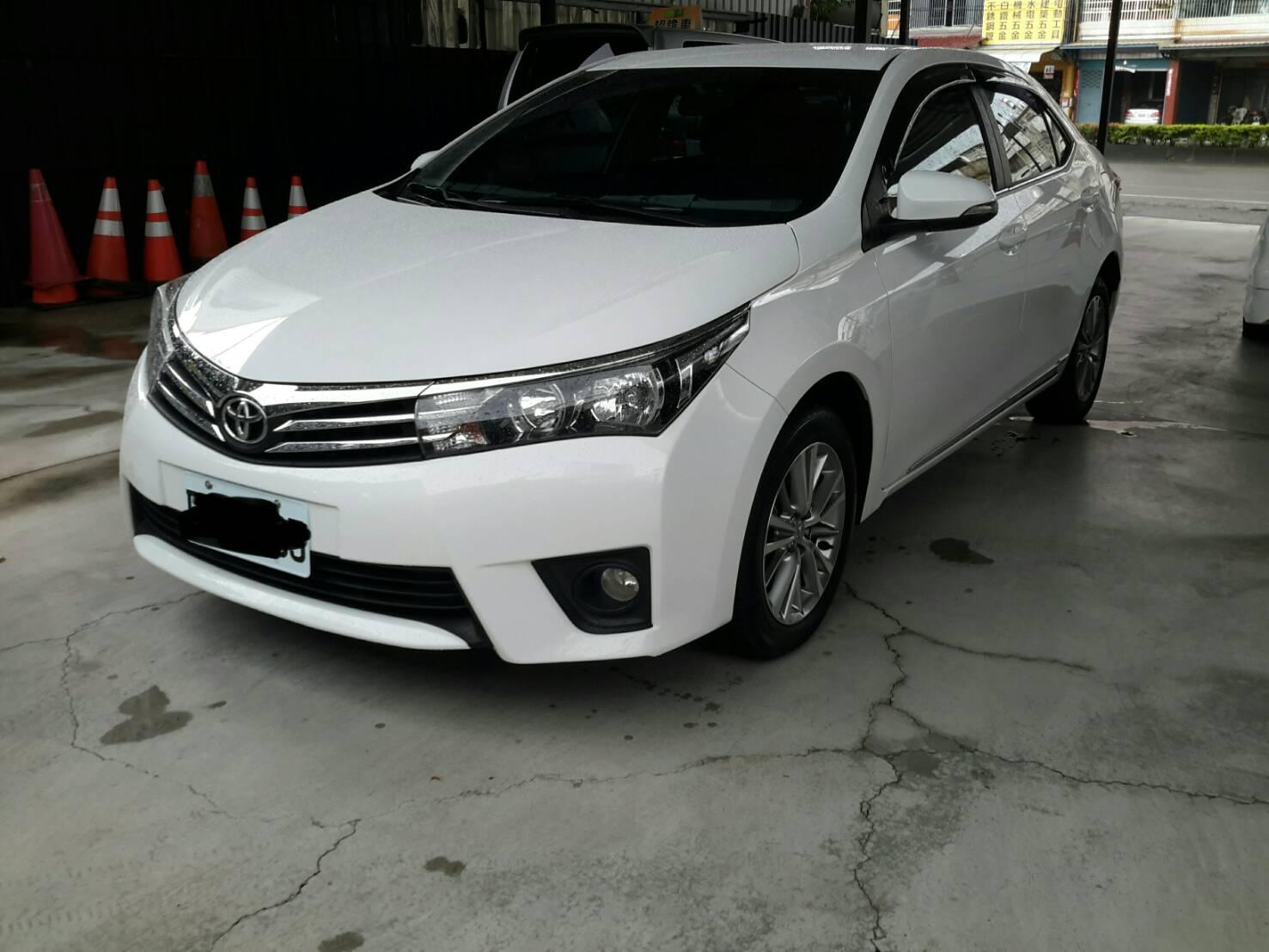 2015 Toyota Corolla altis