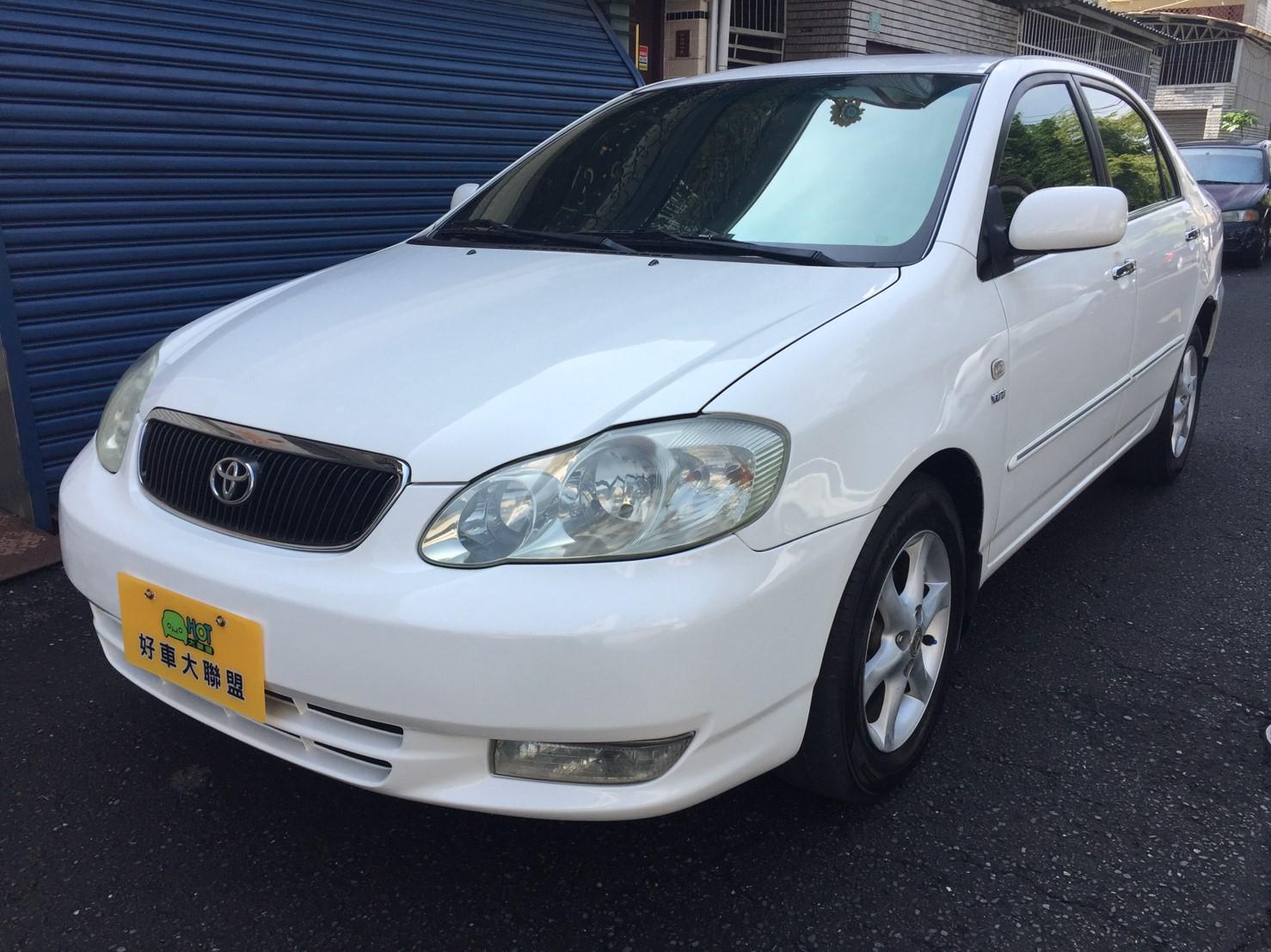 2002 Toyota 豐田 Corolla altis