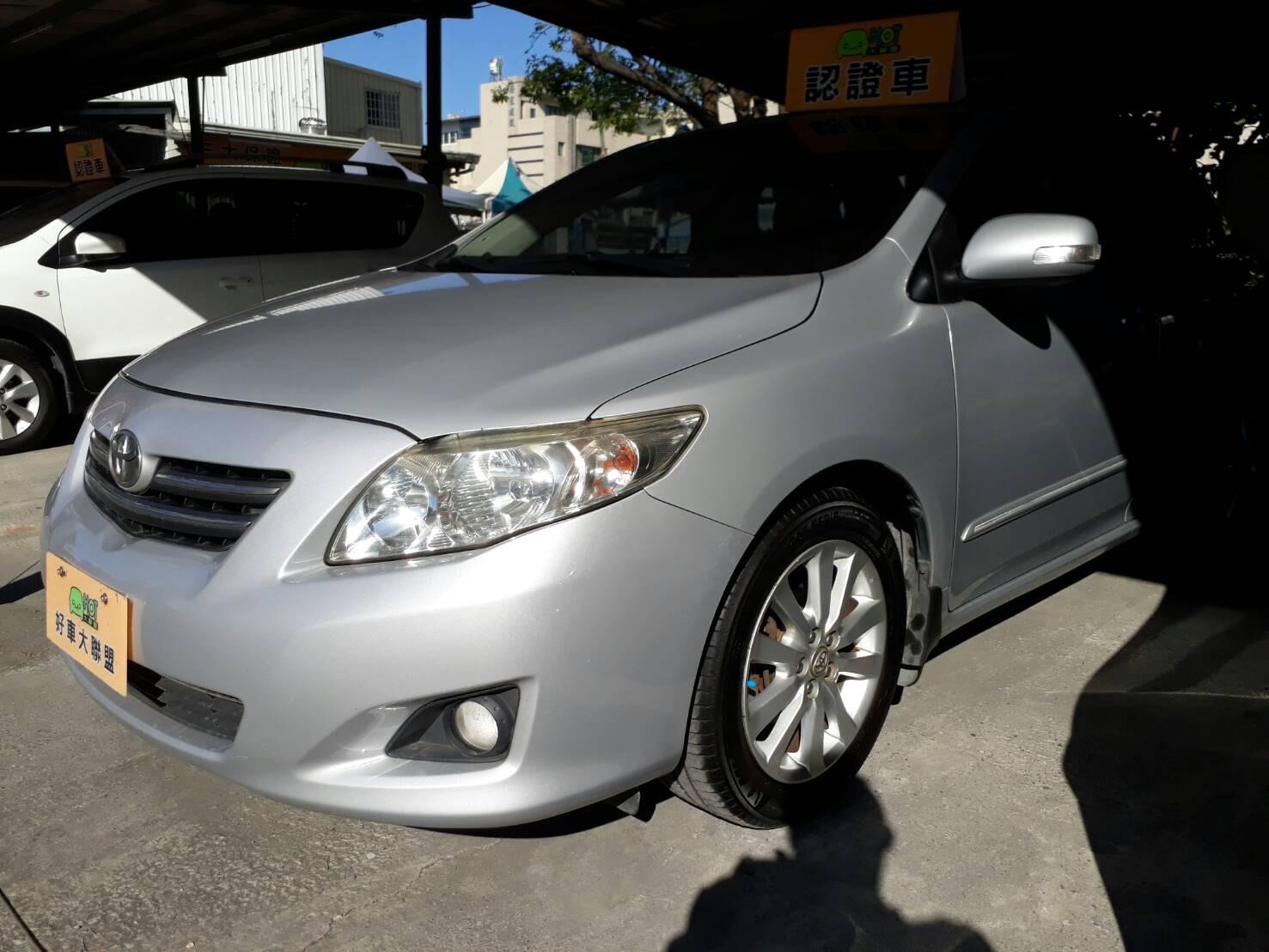 2009 Toyota 豐田 Corolla altis